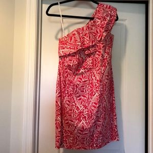 One shoulder Lilly dress